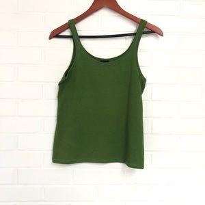 Eileen Fisher Small Green Tank
